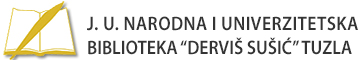JUNU Biblioteka Derviš Sušić Tuzla